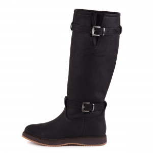 Magellan & Mulloy Xscape Denver Black, zwarte dames outdoor laars